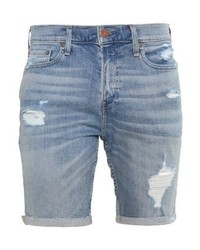 Denim shorts destroyed light medium 4160796
