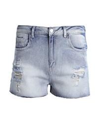Even&Odd Denim Shorts Light Blue Denim