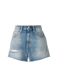 Distressed denim shorts medium 7587511
