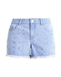 Dorothy Perkins Dolly Denim Shorts Mid Wash
