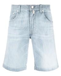 Jacob Cohen Faded Denim Shorts