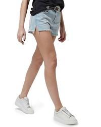 Topshop High Rise Cutoff Jean Shorts