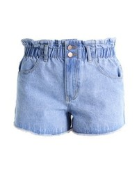 Paperbag denim shorts light denim medium 3935242