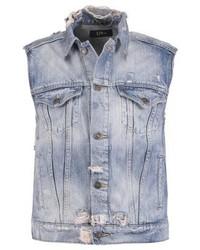 Mona waistcoat blue trash medium 3996530