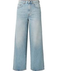Totême Flair High Rise Wide Leg Jeans
