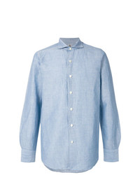 Finamore 1925 Napoli Classic Button Up Shirt