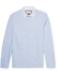 Gucci Penny Collar Cotton Oxford Shirt