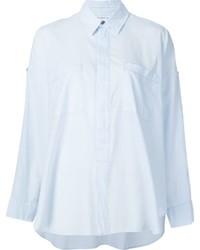 Helmut Lang Cold Shoulder Detail Shirt