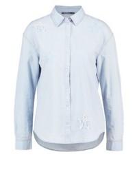 Only Onllaura Shirt Light Blue Denim