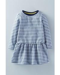 Mini Boden The Sweatshirt Brushed Cotton Blend Dress
