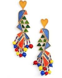 Tory Burch Statet Earrings