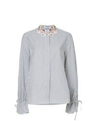 Vivetta Embellished Neck Shirt