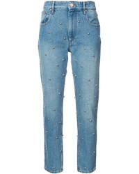 Etoile Isabel Marant Isabel Marant Toile Stud Embellished Straight Jeans