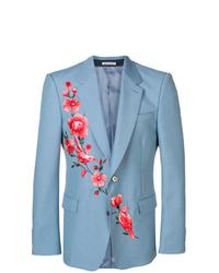Alexander McQueen Embroidered Blazer