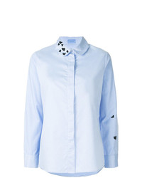 Macgraw Heart Embroidered Shirt