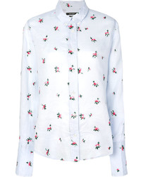 Isabel Marant Uliana Floral Embroidered Shirt