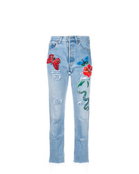 History Repeats Embroidered Jeans