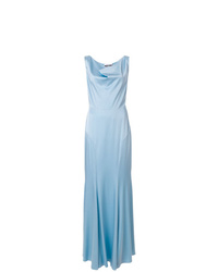 Moschino Cowl Neck Evening Gown
