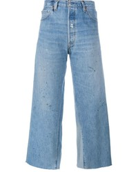 RE/DONE Cropped Flared Jeans