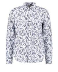Garden slim fit shirt white blue medium 3777338