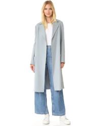 Women's Light Blue Coats by Helmut Lang | Women's Fashion