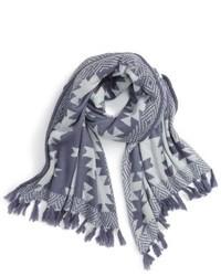 Caslon Geometric Knit Scarf