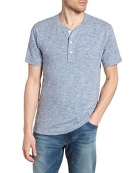 Light Blue Henley Shirt
