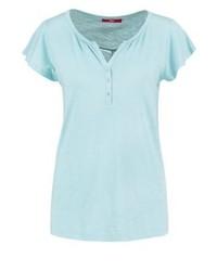 s.Oliver Basic T Shirt Bleached Aqua