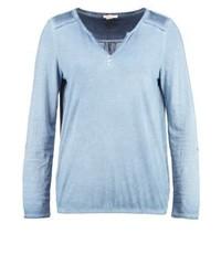 Esprit Long Sleeved Top Grey Blue