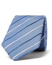 Hugo Boss 7cm Striped Silk Jacquard Tie