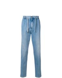 Eleventy Drawstring Waist Jeans