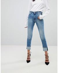 Replay Easy Stretch High Rise Slim Leg Jean