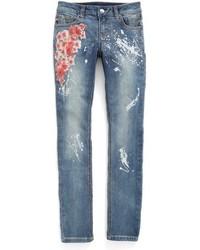 Vigoss Flower Skinny Jeans