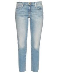 Frame Le Garcon Mid Rise Straight Fit Boyfriend Jeans