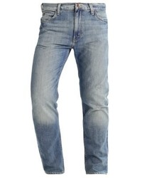 Lee Rider Straight Leg Jeans Seatone Damage
