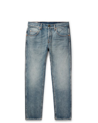 Gucci Slim Fit Cropped Tapered Denim Jeans