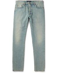 Valentino Slim Fit Washed Denim Jeans