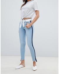 Mango Sporty Stripe Jeans