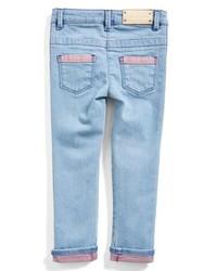 Little Marc Jacobs Two Tone Denim Jeans Light Blue 14