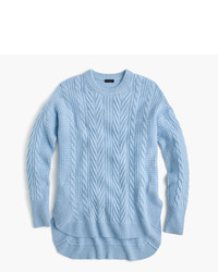 J.Crew Tunic Cable Knit Sweater