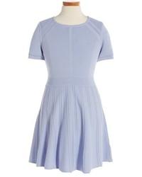 Milly Minis Toddler Girls Knit Skater Dress