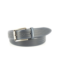 Light Blue Leather Belt