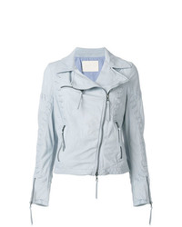 Drome Zipped Biker Jacket