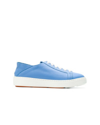 Santoni Low Top Lace Up Sneakers