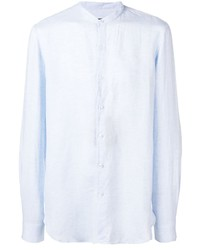 Giorgio Armani Band Collar Shirt