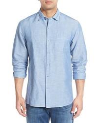 Big tall islander linen cotton sport shirt medium 584714