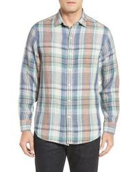 Mas regular fit linen sport shirt medium 1247826