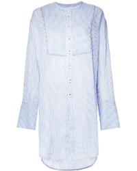 Bassike Striped Longline Shirt