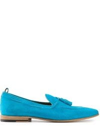 Light Blue Loafers
