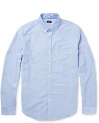 Button down collar cotton oxford shirt medium 5209